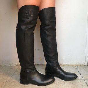 Tory Burch Simone Over the Knee Boots